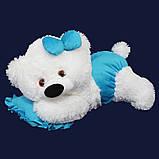Мягкая игрушка лежачий медведь 60 см, фото 6