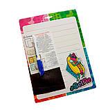 Доска для надписей, картонная сухостираемая, А4 (дизайны для детей), фото 2
