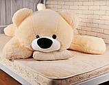 Плюшевый медведь Умка - лежачий 125 см, фото 4