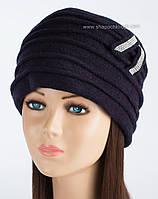 Утепленная зимняя шапка Kartazon-21 синего цвета