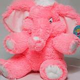 Мягкая игрушка розовый слон 90 см, фото 3