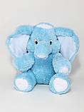 Мягкая игрушка розовый слон 90 см, фото 4
