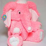 Мягкая игрушка розовый слон 90 см, фото 5