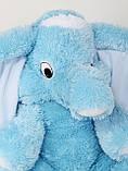 Мягкая игрушка розовый слон 90 см, фото 8