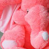 Мягкая игрушка розовый слон 90 см, фото 9