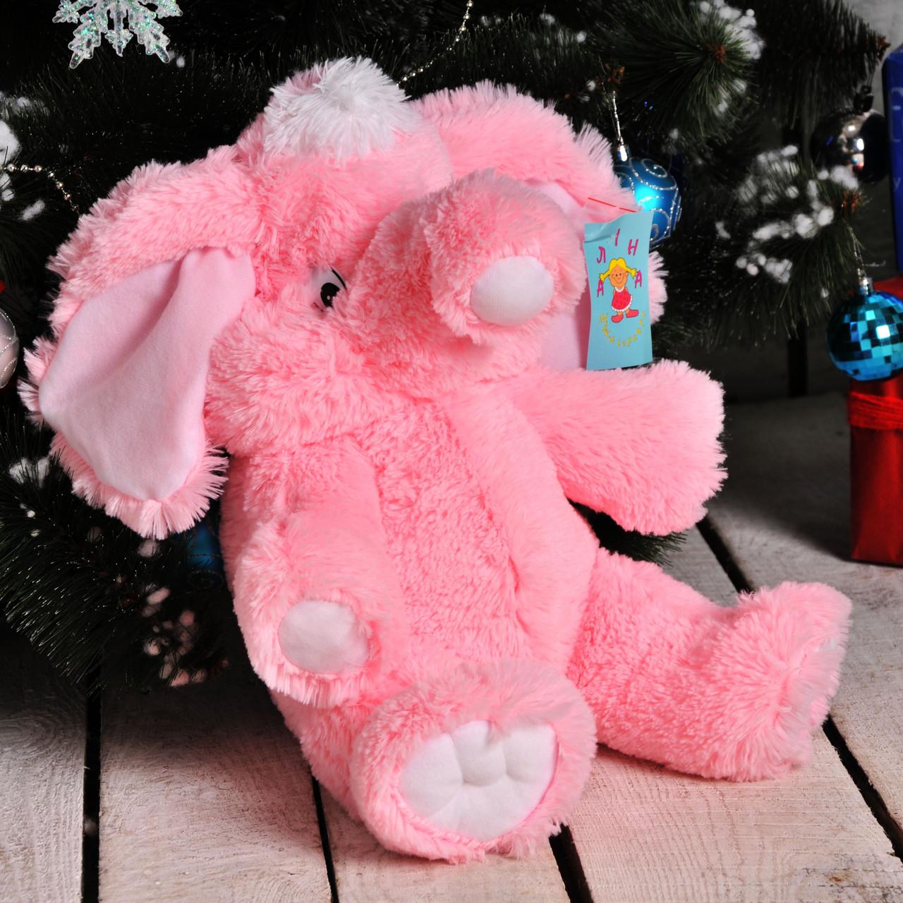 Мягкий слоник недорого 55 см