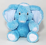 Мягкий слоник недорого 55 см, фото 4