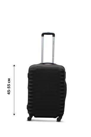 Чохол для валізи дайвінг чорний /Чехол для чемодана  Coverbag  дайвинг  S черный