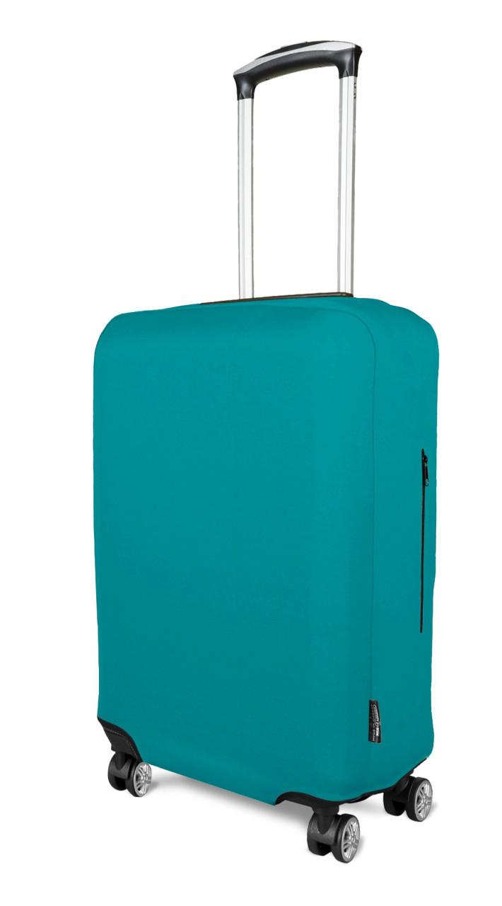 Чохол для валізи неопрен м'ята /Чехол для чемодана Coverbag неопрен  M мята