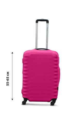 Чохол для валізи дайвінг рожевий /Чехол для чемодана  Coverbag дайвинг  M розовый