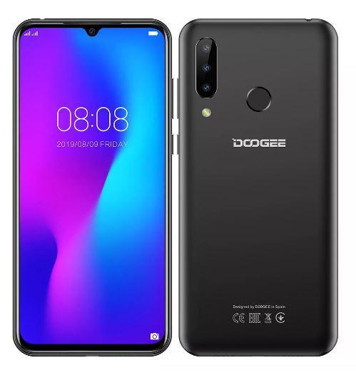 Смартфон DOOGEE N20 Black + чехол