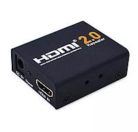 HDMI 2.0 усилитель сигнала, репитер адаптер, скорость до 6Гбит/с ультра-высокое разрешение 4K/2K 60Гц Repeater, фото 1