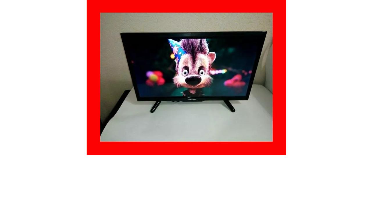 Купить Телевизор Самсунг 24 дюйма Т2 ЛЕД FULL HD Samsung 12/220 вольт