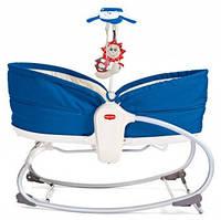 Кресло-кроватка-качалка 3 в 1 Tiny Love Мамина любовь синее