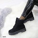 Ботинки женские демисезонные 38,39  размеры А18475, фото 3