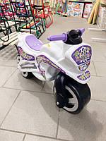 Мотоцикл толокар беговел Kinder Way. Белый
