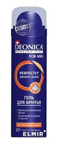 """Гель для бритья DEONICA FOR MEN """"Комфортное бритье"""" 200 мл 18шт / ящ."""