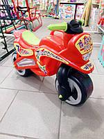 Мотоцикл толокар беговел Kinder Way. Красный
