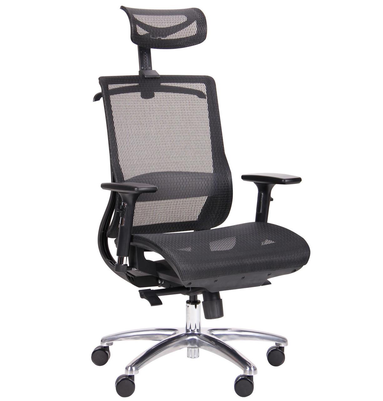 Компьютерное кресло Coder Black Alum Black, TM AMF