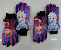 Непромокаемые перчатки для девочек Disney, 3/4-7/8 лет. Артикул: FR-A-GLOVES-113