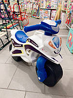 Мотоцикл толокар беговел Долоні. Белый