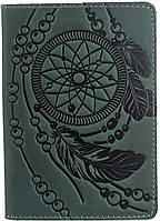 Обложка на паспорт SHVIGEL 13836 Зеленая, Зеленый