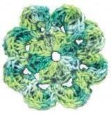 Alize Miss Melange №50866 салатово-зеленый
