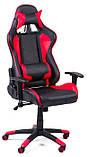 Офисный стул Formula red/black  / офісне крісло, фото 4