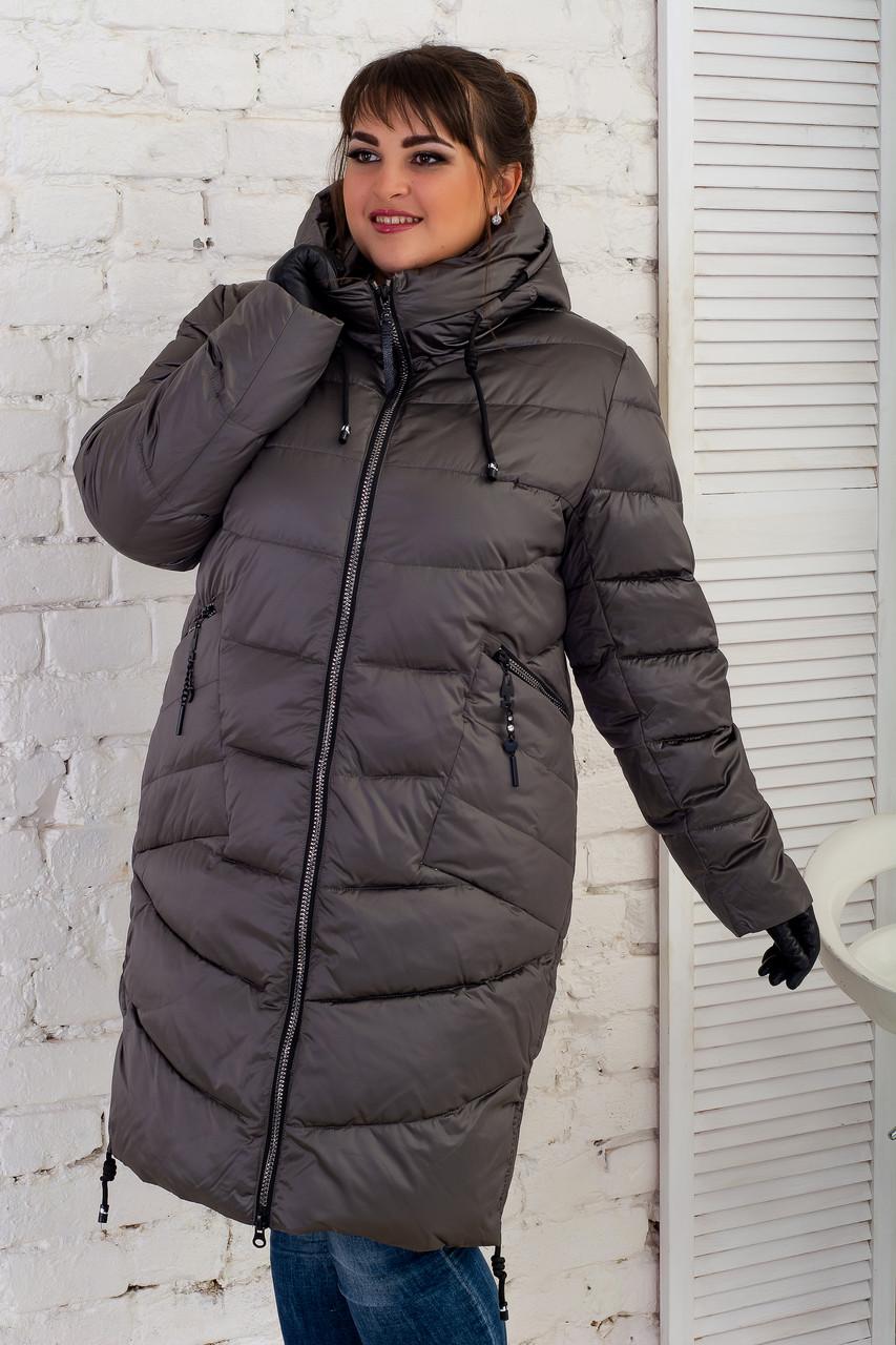 Зимние Пальто Пуховики Corusky  Размеры 60-70