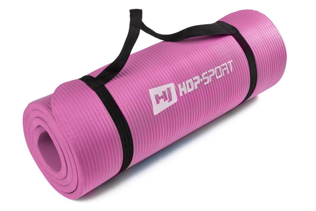 Мат для фітнесу Hop-Sport 1,5см (рожевий) / Мат для фитнеса Hop-Sport HS-4264 1,5 см Pink