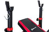 Набор Premium 33 кг со скамьей HS-1020 + пульт (парта) + тяга, фото 3