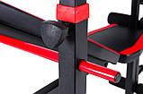 Набор Premium 33 кг со скамьей HS-1020 + пульт (парта) + тяга, фото 4