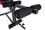 Набор Premium 124 кг со скамьей HS-1020 + пульт (парта), фото 2