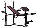 Набор Strong 85 кг со скамьей HS-1020 + тяга, фото 2