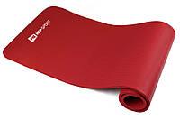 Мат для фітнесу Hop-Sport 1см (червоний) / Мат для фитнеса Hop-Sport HS-4264 1 см Red