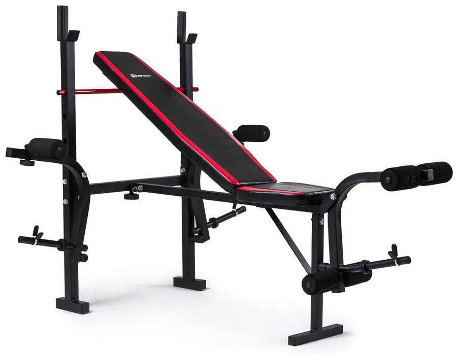 Набор Premium 128 кг со скамьей HS-1055