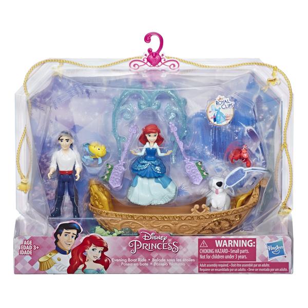 Кукла Hasbro Disney Princess Русалочка 7.5 см-Игр наб Принцесса Дисней сцена из фильма E3077 SD ARIEL STORY