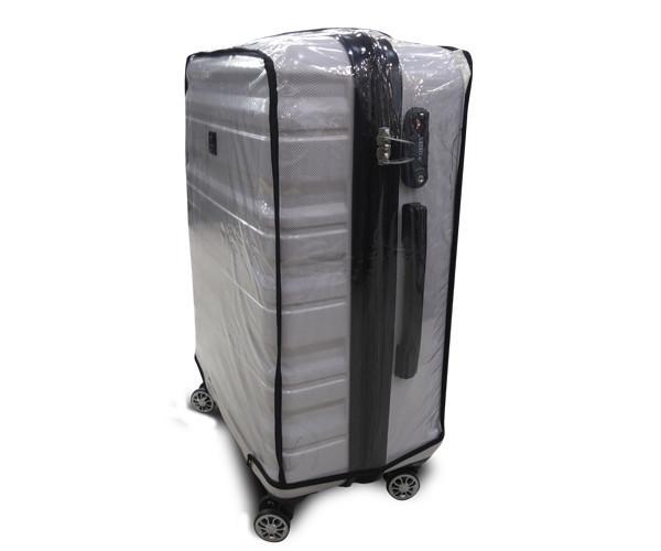 Чохол для валізи вініл прозорий /Чехол для чемодана  Coverbag винил XL прозрачный