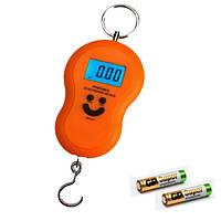 Ваги для багажу оранжеві /Весы для багажа оранжевые