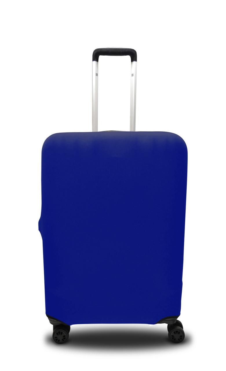 Чохол для валізи мікродайвінг електрік /Чехол для чемодана  Coverbag микродайвинг  M электрик