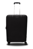 Чохол для валізи мікродайвінг чорний /Чехол для чемодана  Coverbag микродайвинг  M черный