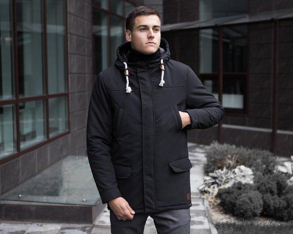 "Пальто мужское Pobedov Soft Shell Coat ""Bali"", два цвета"