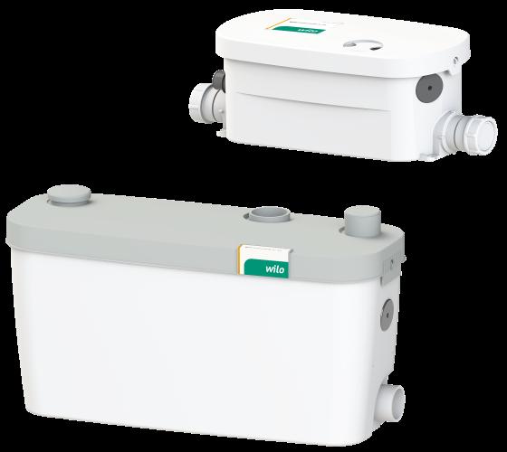 Подъемная установка для отвода сточных вод для установки на полу Wilo HiDrainlift 3-37