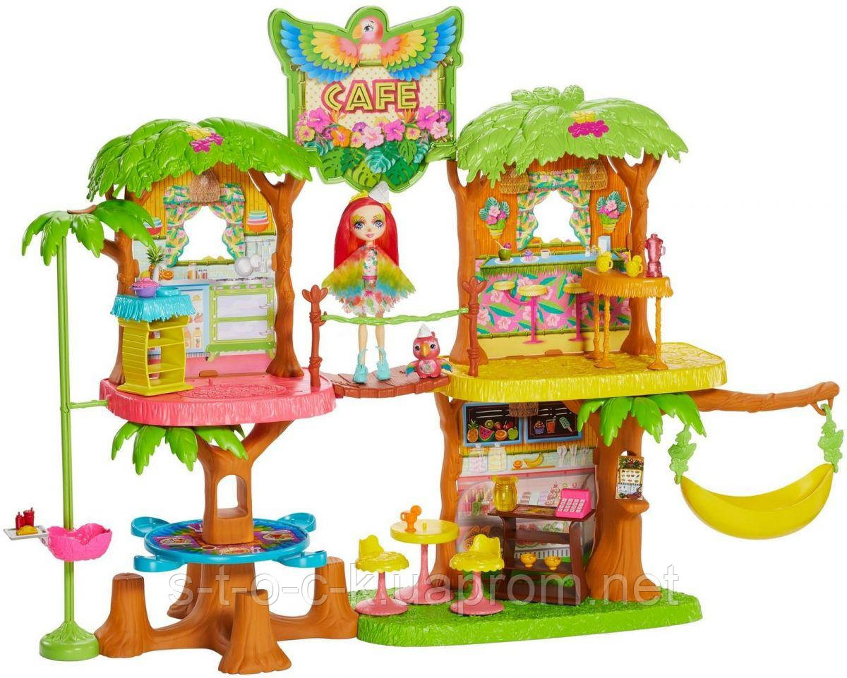 Игровой наборMattel Enchantimals GNC57 Джунгли-кафе