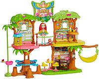 Игровой набор с куклой Enchantimals Джунгли-кафе, GFN59