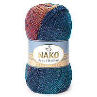 Nako Arya Ebruli Sim №86412 сине-терракотовый