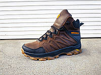 Кожаные зимние мужские ботинки 40-45 р-р, фото 1