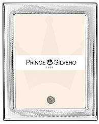 Фоторамка 20х25см серебряная Prince Silvero