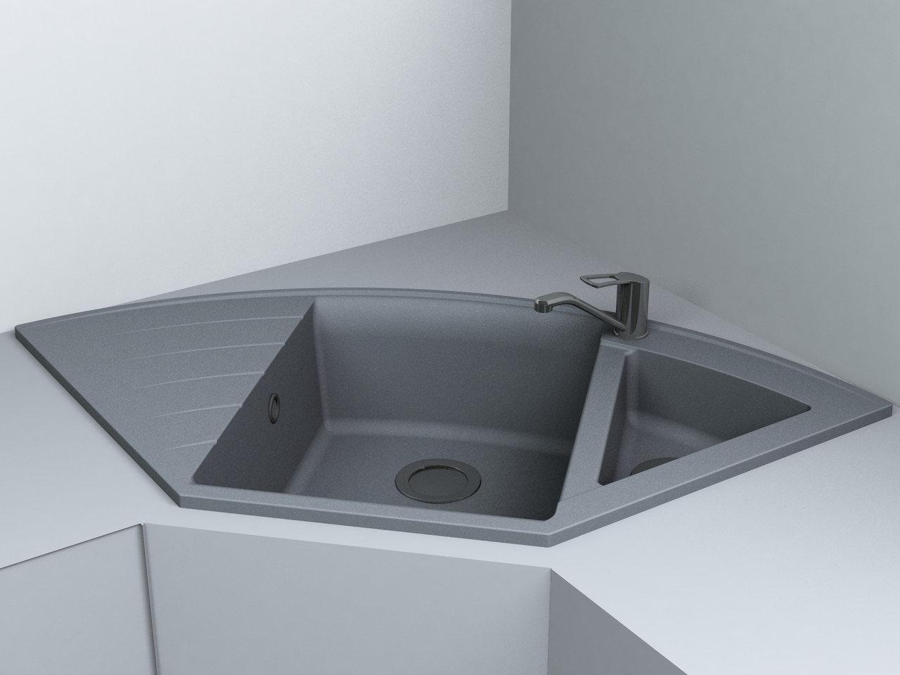 Кухонная мойка Miraggio Europe Gray