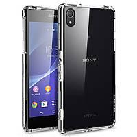 Чехол силиконовый ультратонкий для Sony Xperia Z2 D6502 прозрачный